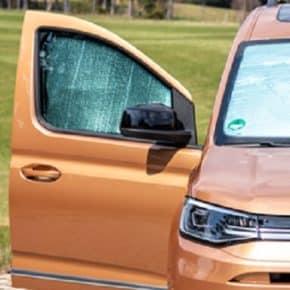 Das Isolite für die Caddy 5 / California Seitenfenster