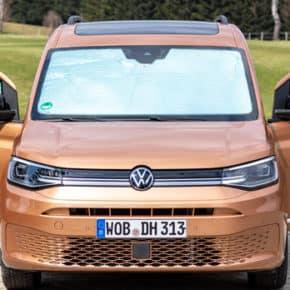 Isolite Isolierung für die Windschutzscheibe des VW Caddy und Caddy California